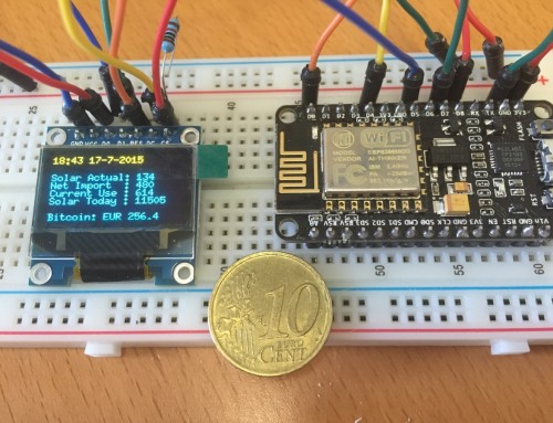 MQTT Data display using ESP8266 and OLED display